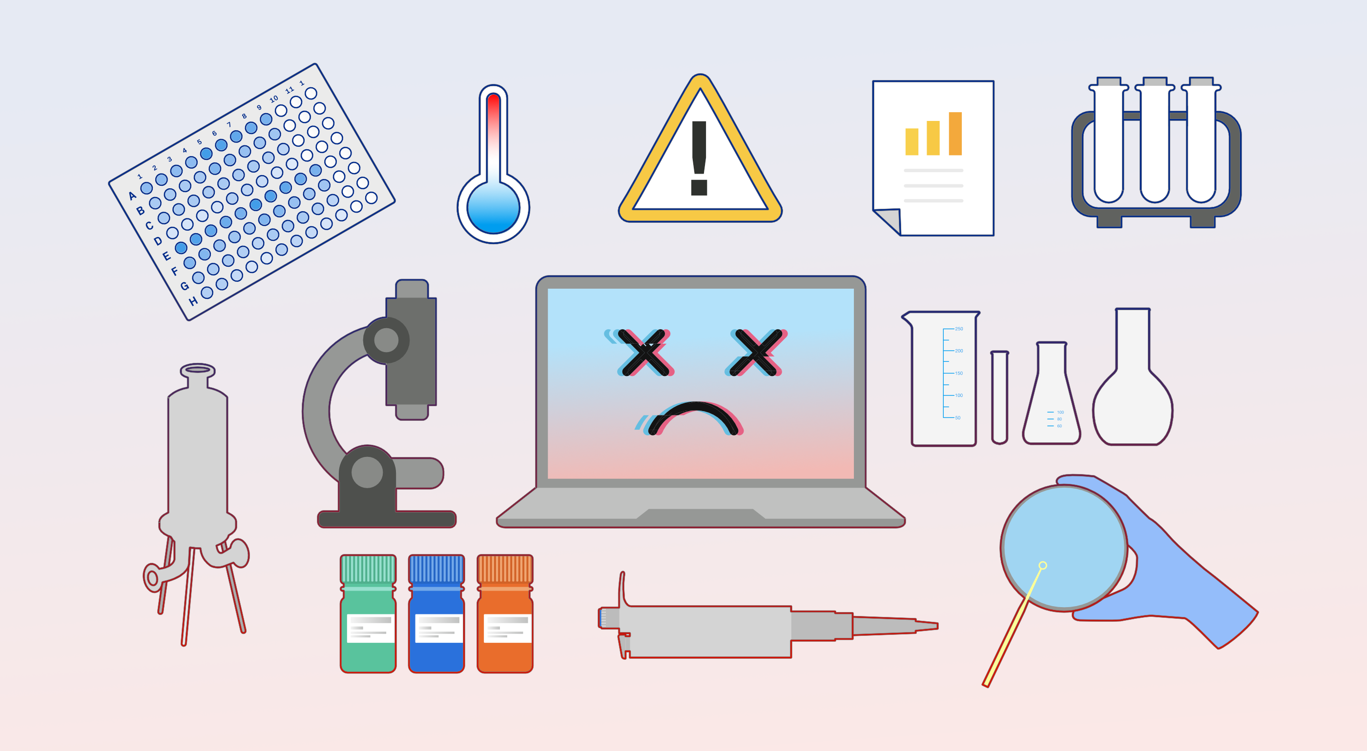 Common lab equipment malfunctions